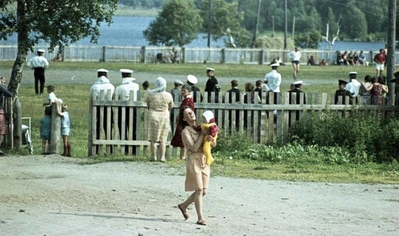 1960е Из серии «Студенческий отряд МГУ на Соловках».  Всеволод Тарасевич22.jpg
