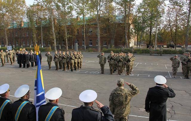 Еще более полусотни контрактников пополнили Военно-морские силы Украины. ФОТОрепортаж