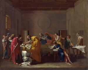 Таинства Церкви. Соборование. Никола Пуссен