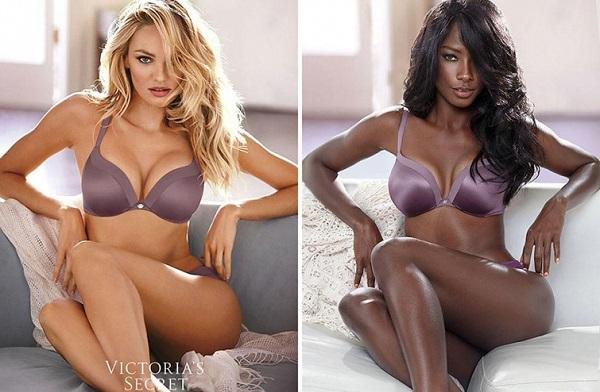 Эта темнокожая красавица доказала всему миру, что она ничем не хуже любой супермодели. (9 фото)