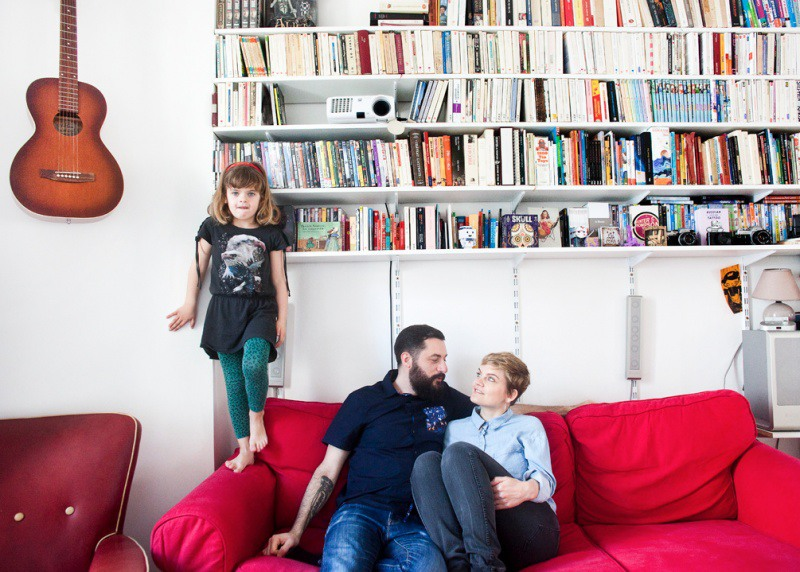 8 Кармен, Мэйва и Бертран. Париж, Франция