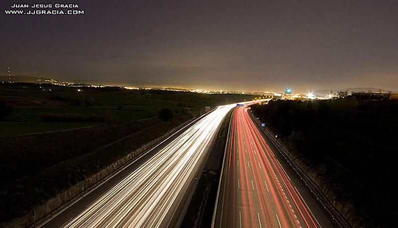 22. Трасса AP7, Испания .