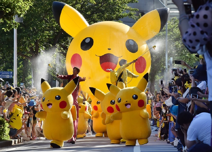 Парад покемонов в Японии