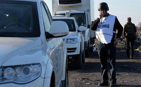 ОБСЕ: Боевики «ЛНР» мешают передвижению уполномченных миссии