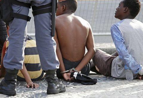 ВРио-де-Жанейро ограбили черногорских чиновников