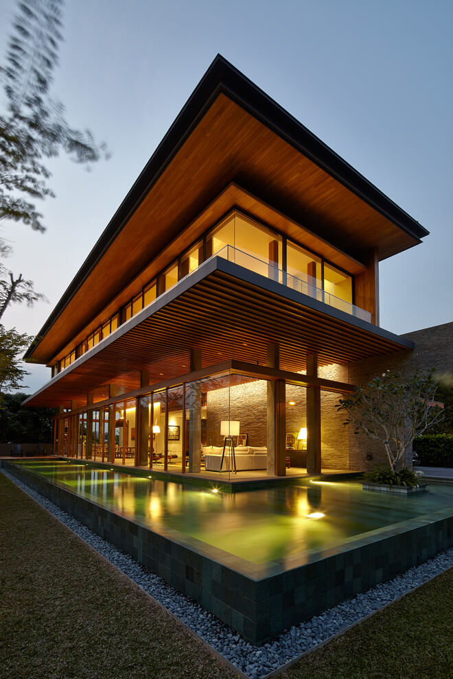 Singapore Residence by Greg Shand Architects