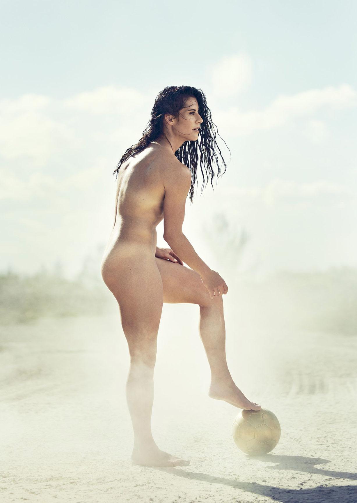 ESPN Magazine The Body Issue 2015 - Ali Krieger / Али Кригер - Культ тела журнала ESPN