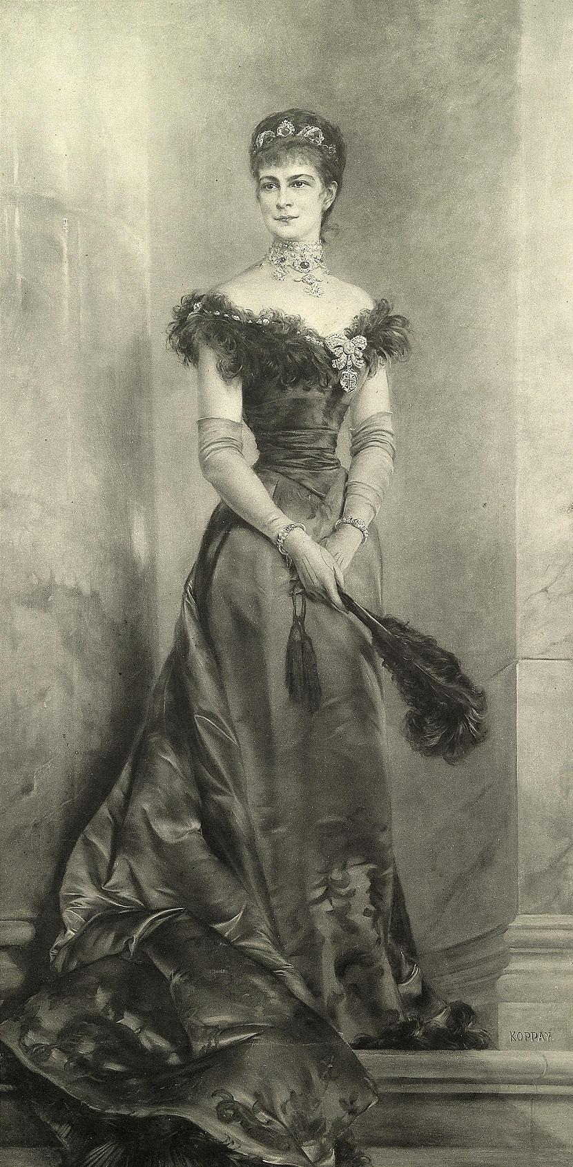 Josef Arpad Koppay (1859-1927) Kaiserin Elisabeth (Sissi)