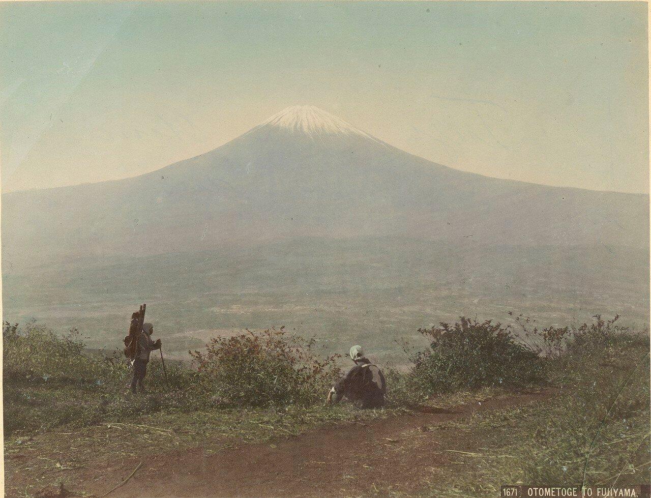 Вид на Фудзи с Отометоге