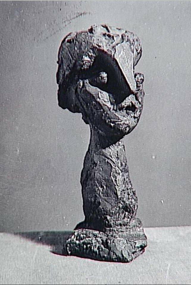 1939. Скульптура работы Пикассо