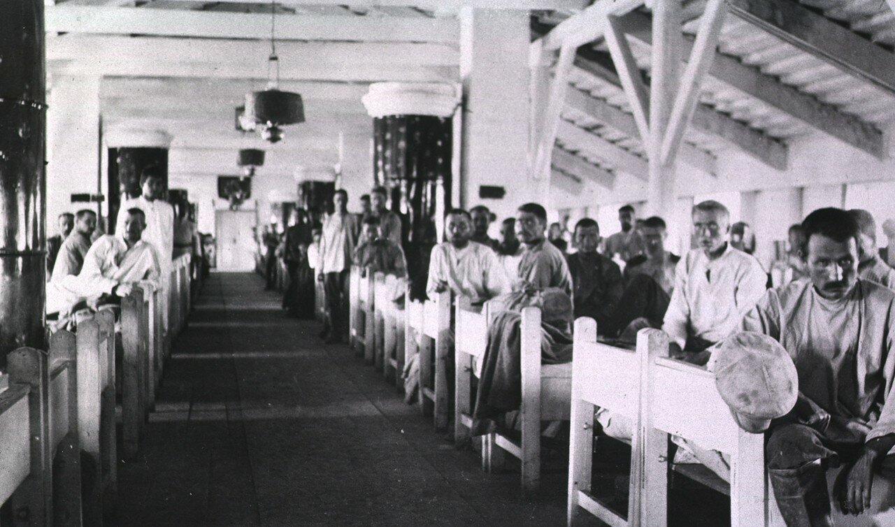 Военный госпиталь № 15. Палата