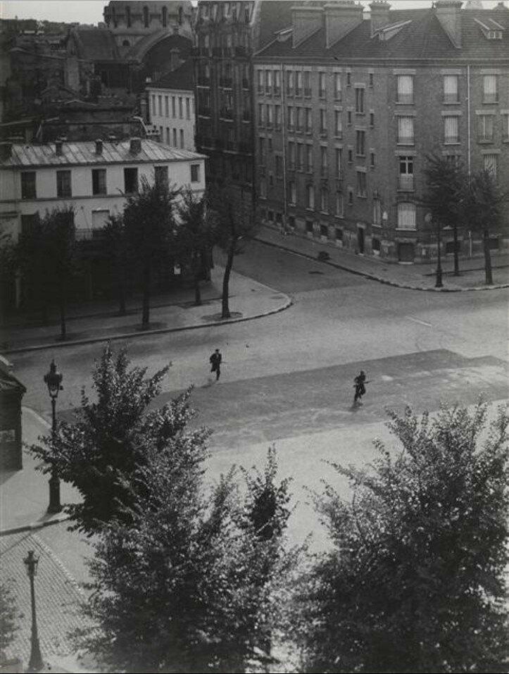 1944. Перекресток бульвара Сен-Жак и улицы Фобур Сен-Жак