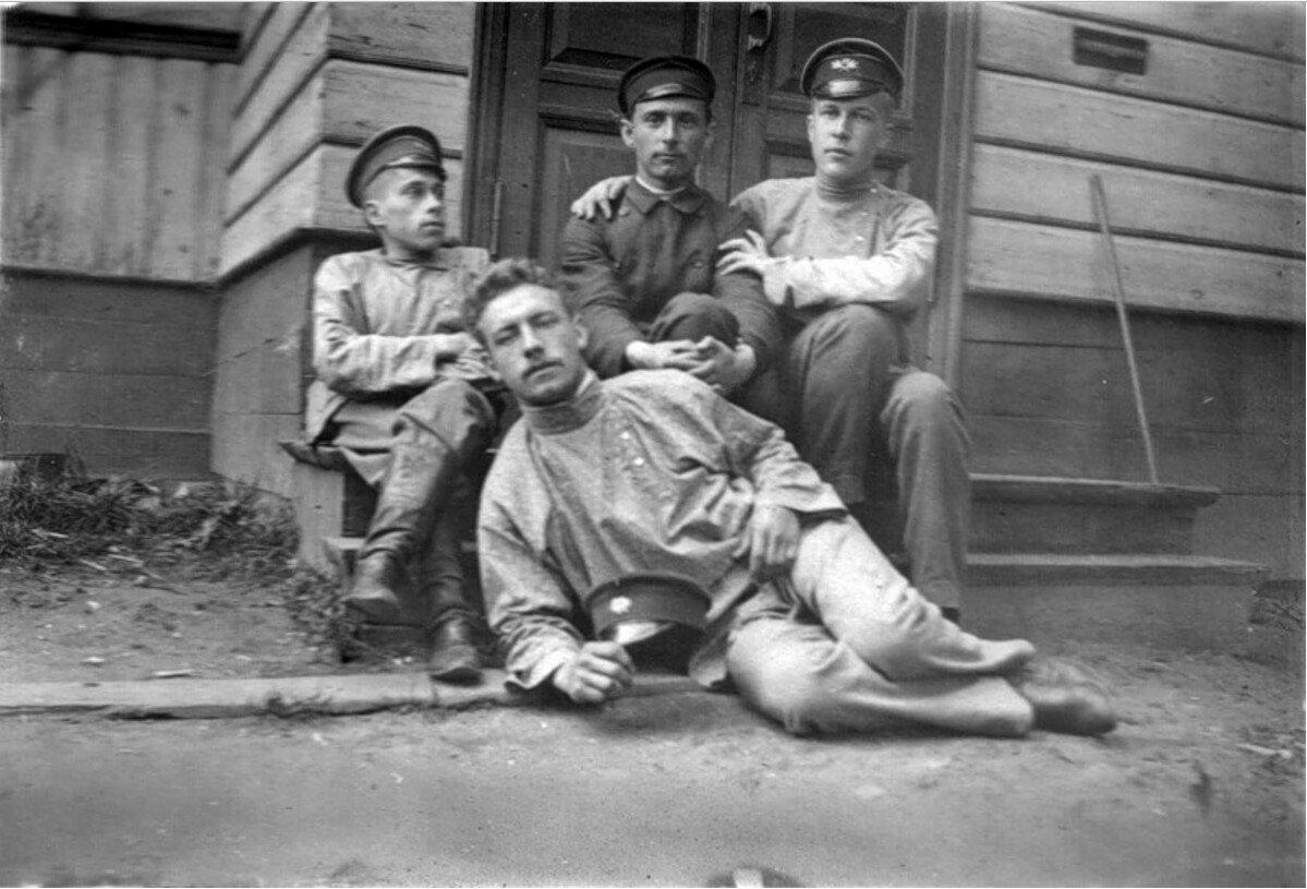 Учащиеся реального училища. 20 августа 1902 года