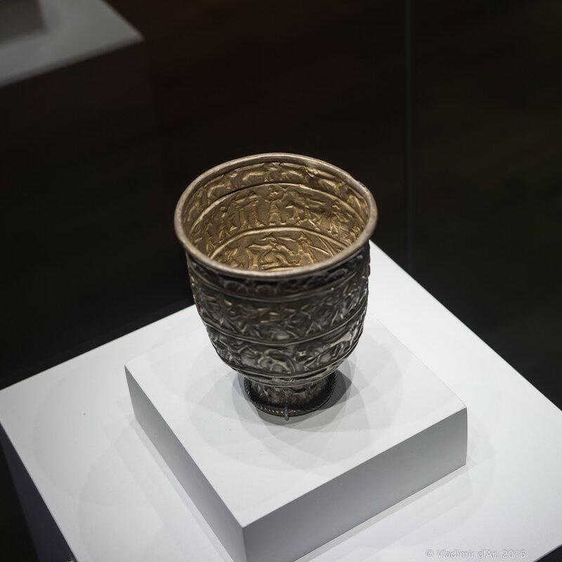 Кубок. Карашамб. XXII-XXI вв. до н.э. Серебро.