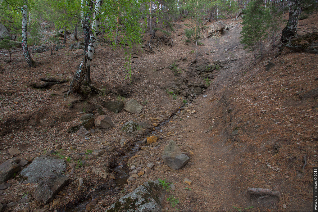 Каменская каменноугольная копь. Шахта Красный Горняк