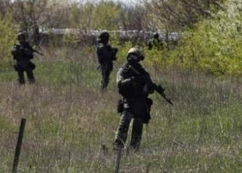 На военном аэродроме в Краматорске слышна стрельба