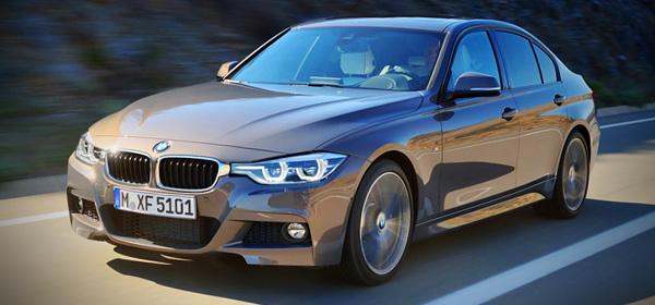Обновленная BMW 3-Series засветилась до премьеры