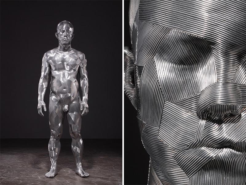 Скульптуры из алюминиевой проволоки