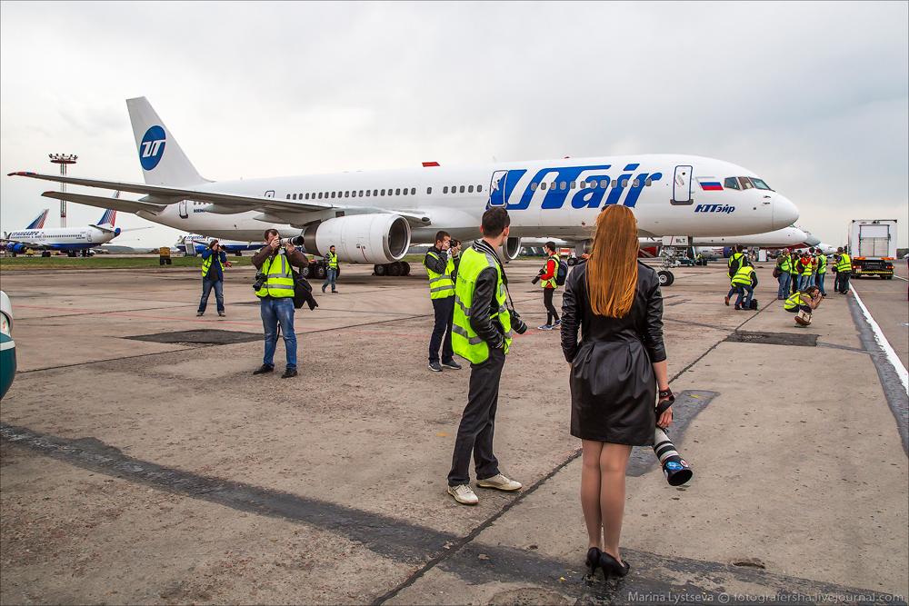 Споттинг в Домодедово 28.04.2014