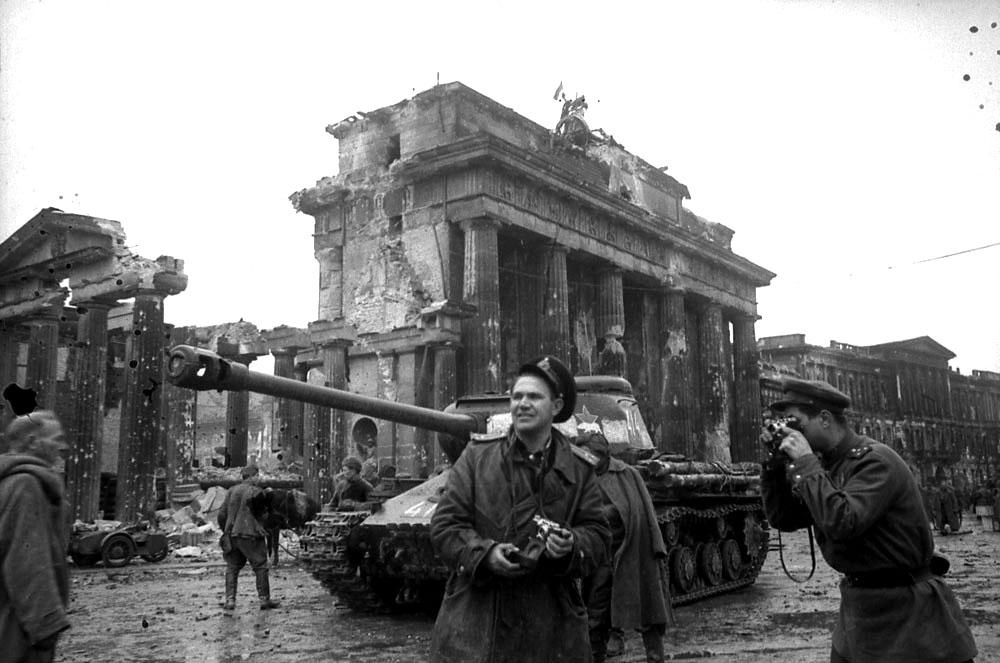 берлин фото 1945г