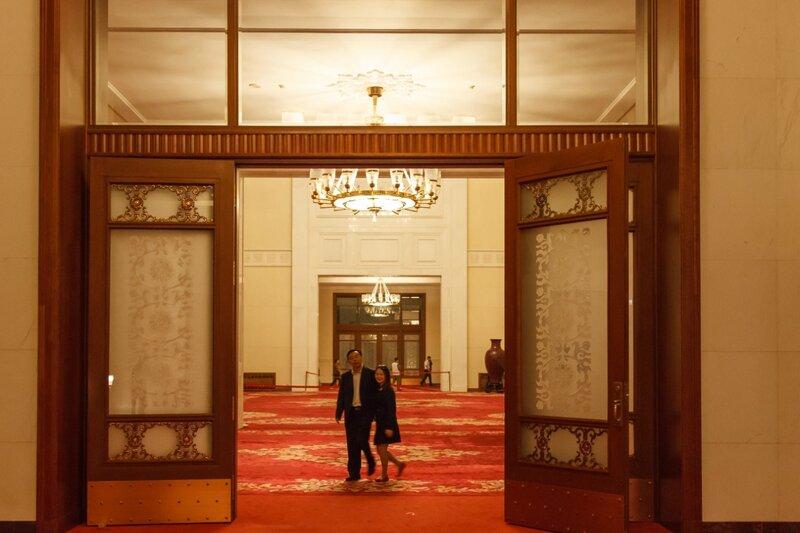 Фойе, Дом народных собраний, Пекин
