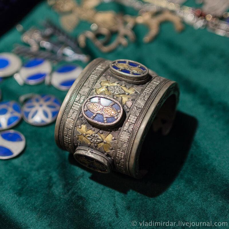 Старый казахский браслет