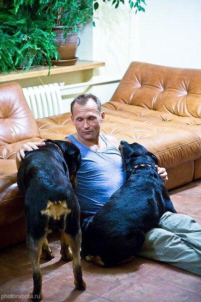 В гостях у стаи ротвейлеров, Москва