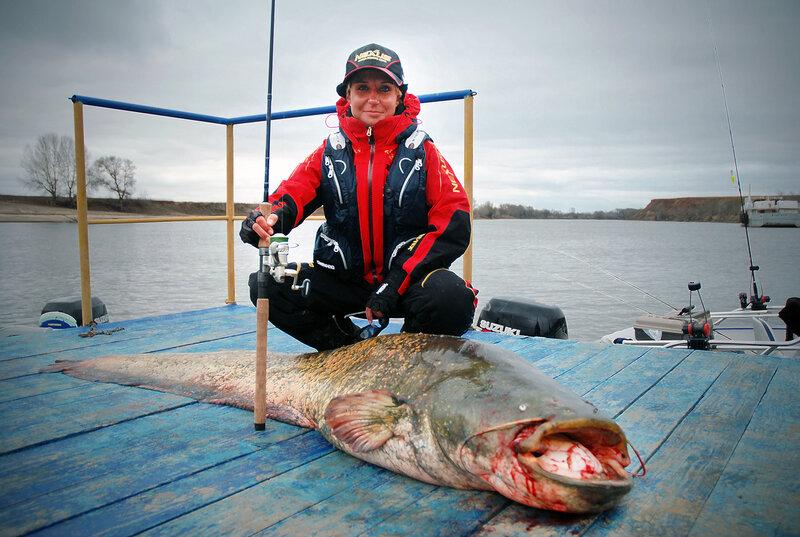 подводная рыбалка на сома на волге видео