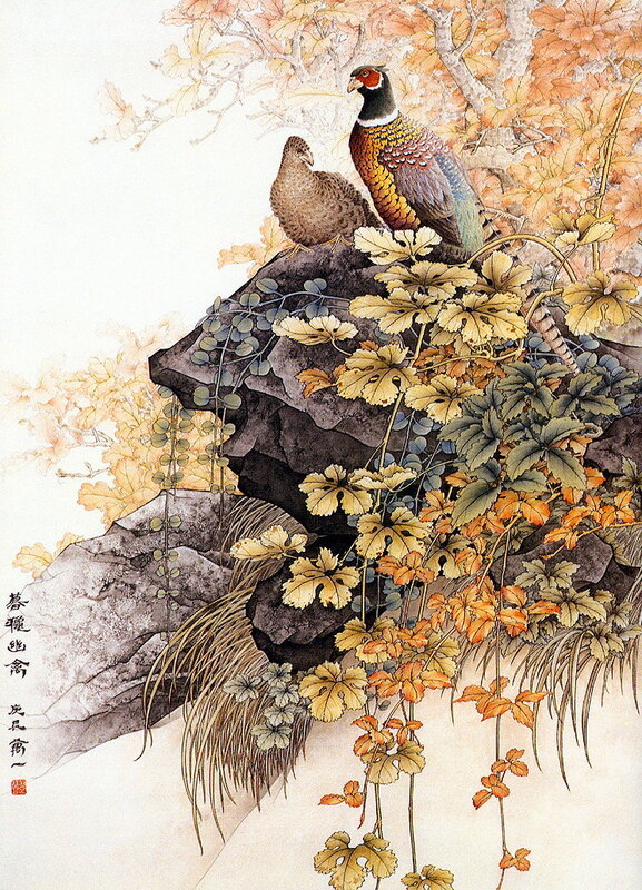 Китайский художник Wan Yi (18 картин)