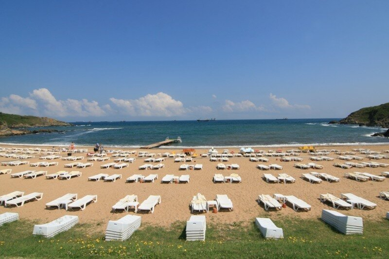 пляж Dalia