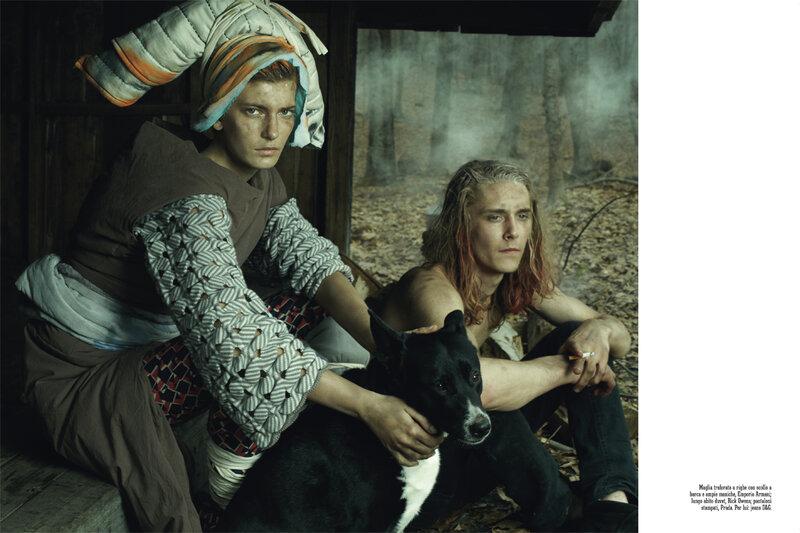 Стивен Майзел fashion story fashion backstage  Фешн стори Wild Is The Wind от гуру модной фотографии   Стивена Майзела