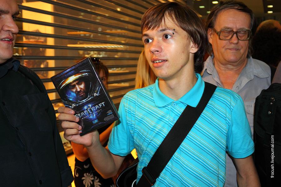 Третий покупатель StarCraft 2