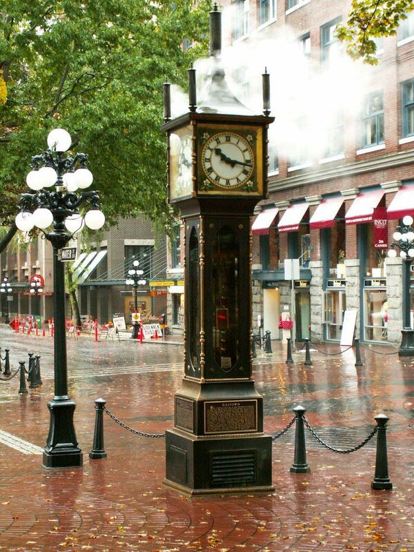 Паровые часы в Ванкувере