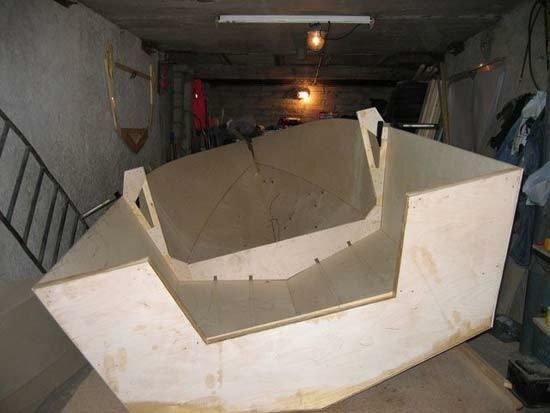 Лодка з стекловолокна своими руками фото