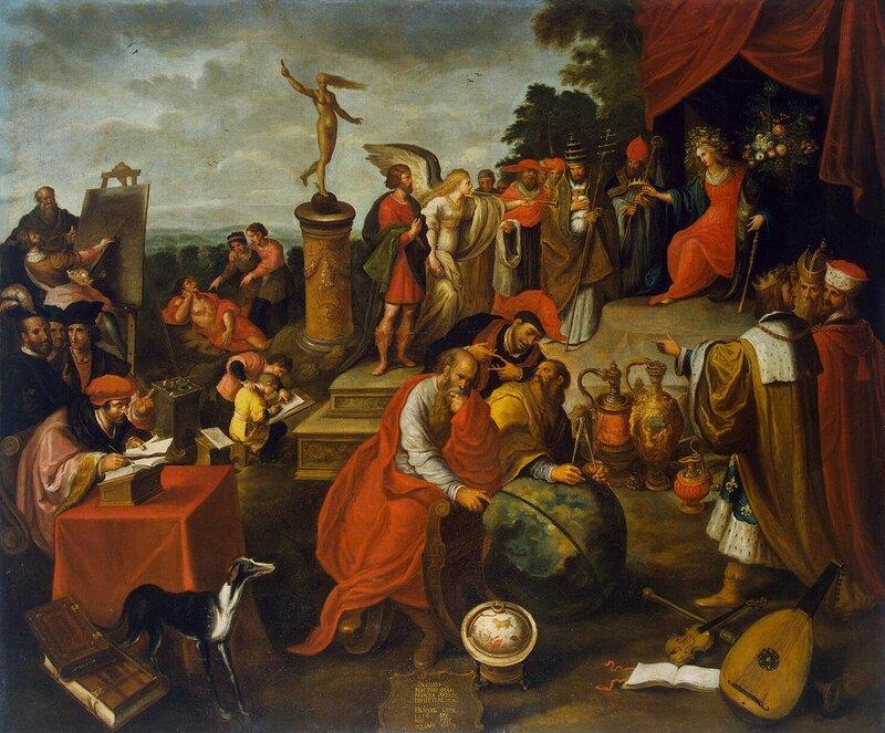 1293.Franken.Frans.II-Allegoriia.sluchaia