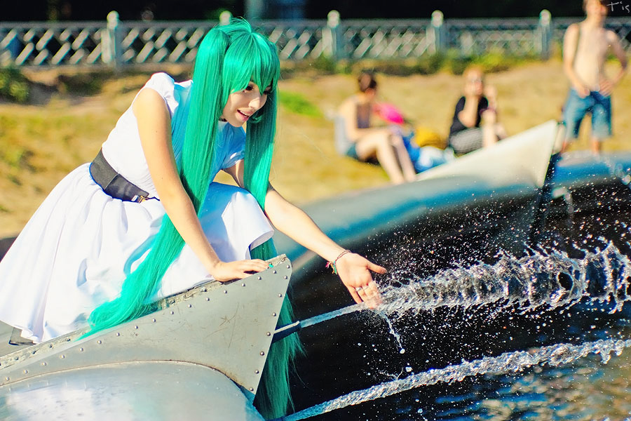 Cosplay Miku Hatsune Filthy Family 1