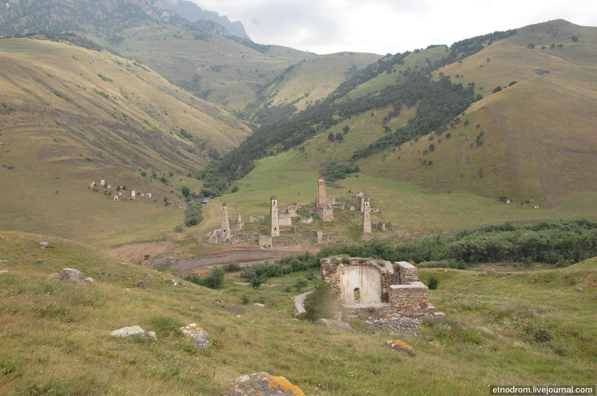 Башенный комплекс в селении Таргим