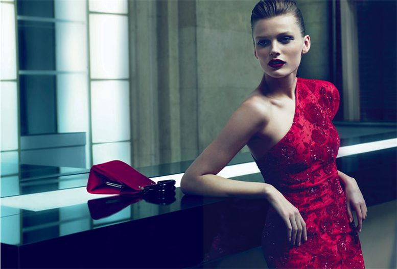 Эдита Вилькевичюте / Edita Vilkeviciute by Mert and Marcus for Giorgio Armani Fall 2010