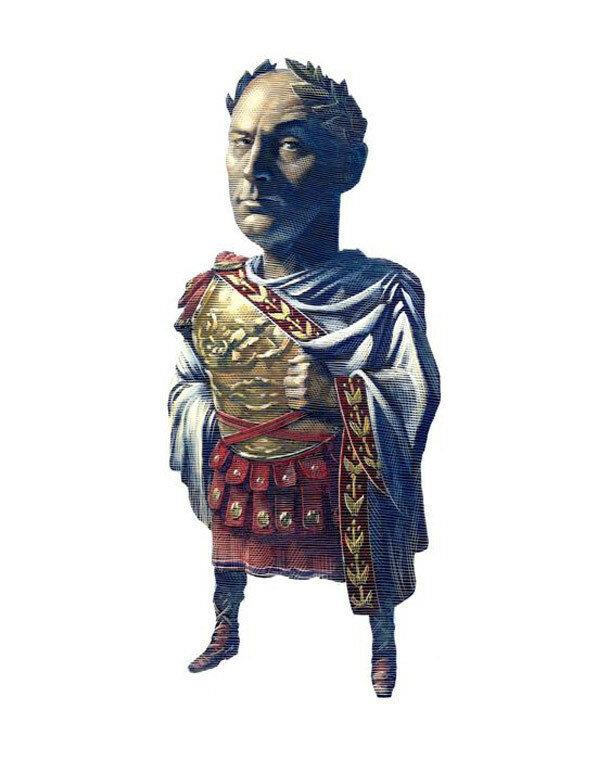 Julius Caesar cartoonist  MarkSummers.