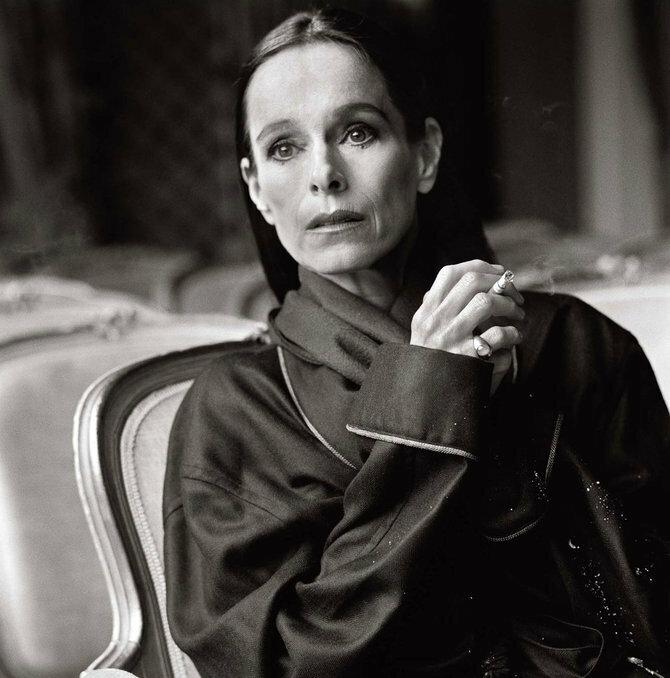 Photographer Michel Comte.Geraldine Chaplin