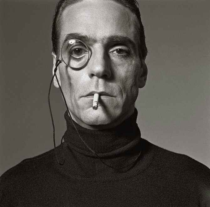 Photographer Michel Comte.Jeremy Irons