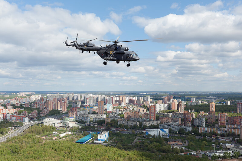 Миль Ми-8МТВ-5 (RF-91183 / 80 желтый) D708513