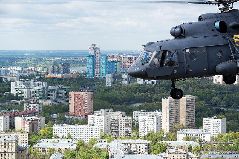 Миль Ми-8МТВ-5 (RF-91184 / 84 желтый) D804617