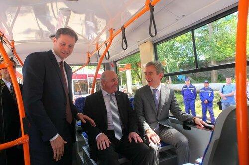 Новые троллейбусы и День города Бельцы - 593