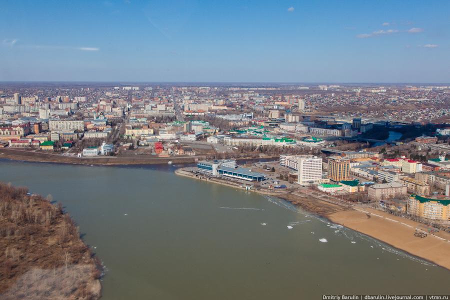 омск правый берег иртыша фото города сортов