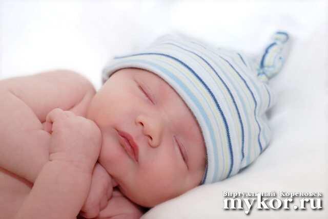 Спящий ребёнок фото