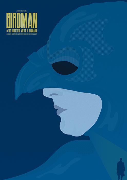 Графический дизайнер и иллюстратор Matt Needle / Мэтт Нидли. Минимализм в кинопостерах
