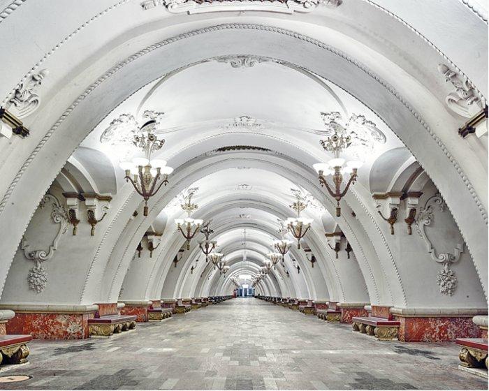 Новослободская, Москва