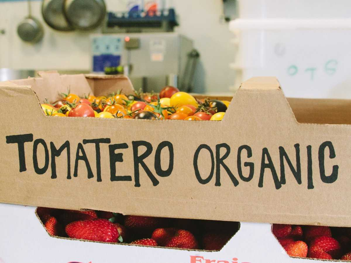 4. Многие из ингредиентов блюд поставляются с органических ферм, расположенных в районе Силиконовой