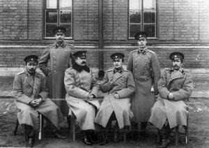 Группа офицеров батальона .